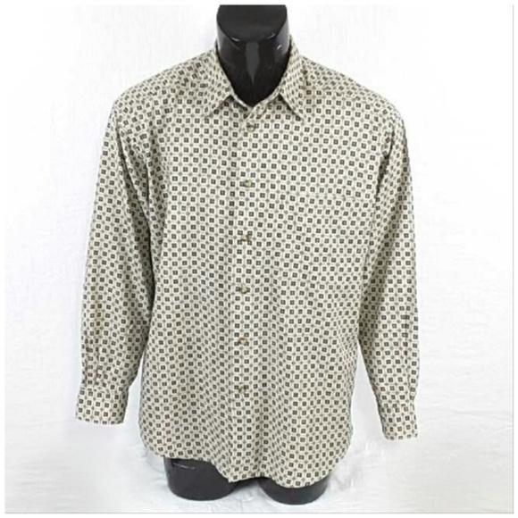 *MEN* CLAIBORNE, Button Up Shirt, size Large